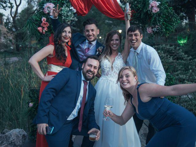 La boda de Javi y Ana en Tarancon, Cuenca 46
