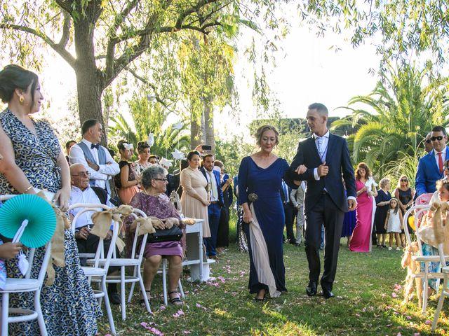 La boda de Rocío y Carlos en La Zarza, Huelva 12