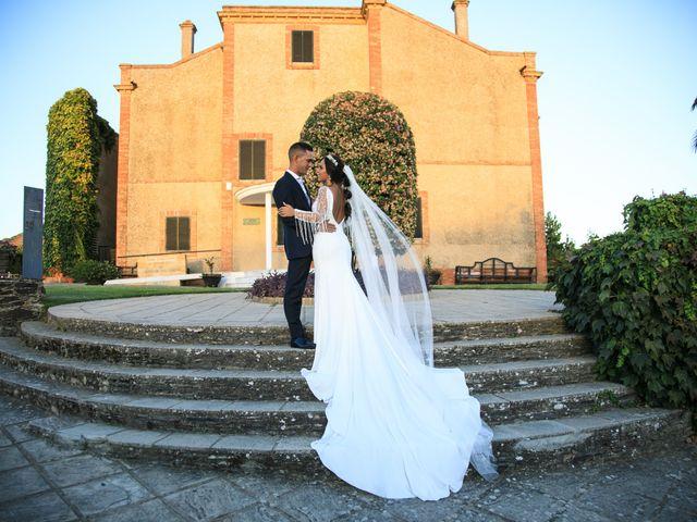 La boda de Rocío y Carlos en La Zarza, Huelva 17