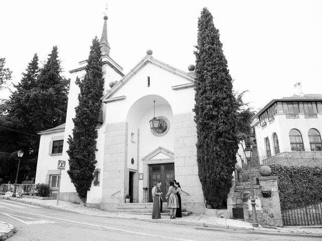 La boda de José O. y María en San Lorenzo De El Escorial, Madrid 7