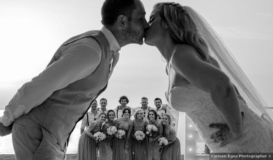 La boda de Phil y Kelly en La Manga Del Mar Menor, Murcia