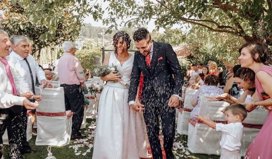 La boda de Dani y Patri  en Tebra (Santa Maria), Pontevedra