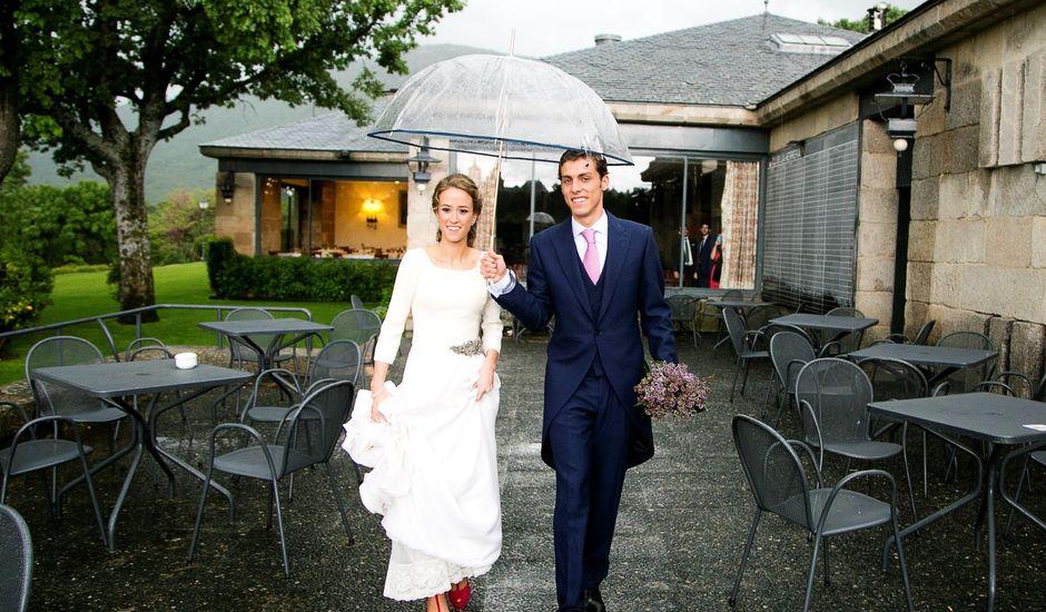 La boda de José O. y María en San Lorenzo De El Escorial, Madrid