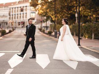 La boda de Nazaret  y Alberto