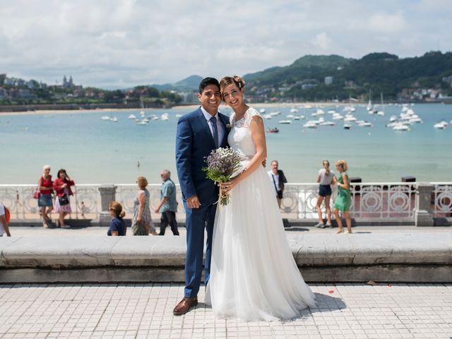 La boda de Byron y Eider en Donostia-San Sebastián, Guipúzcoa 15