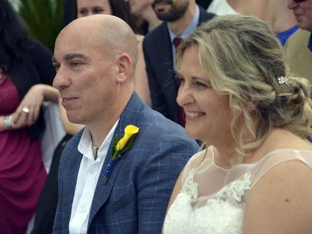 La boda de Antonio y Raquel en Santa Eularia Des Riu, Islas Baleares 1