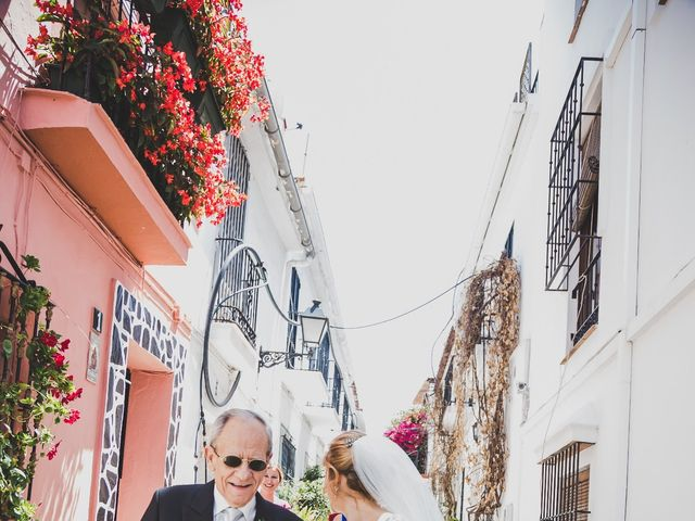 La boda de Angel y Maria en Marbella, Málaga 24