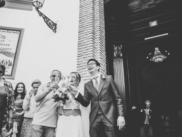 La boda de Angel y Maria en Marbella, Málaga 34