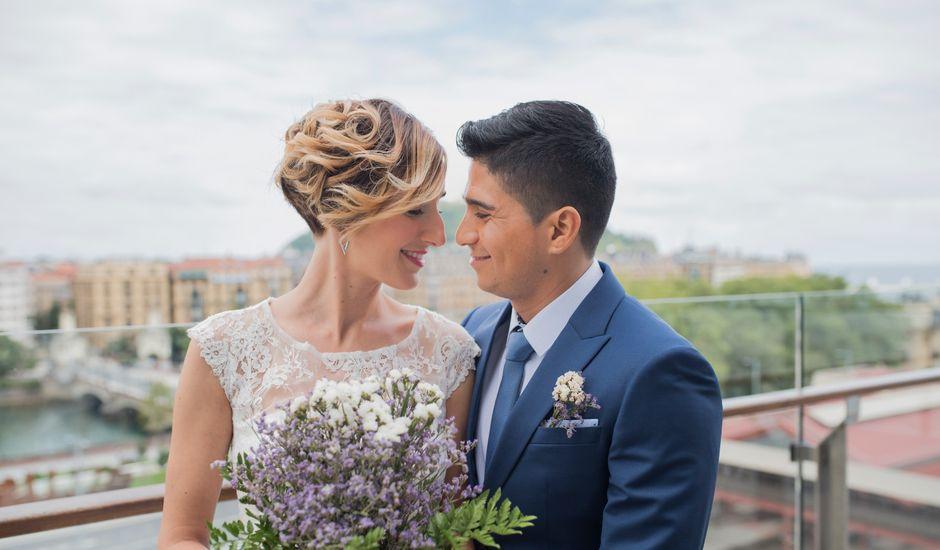 La boda de Byron y Eider en Donostia-San Sebastián, Guipúzcoa