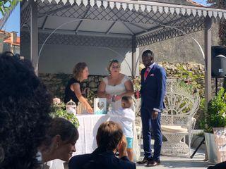 La boda de Rebeca y Mademba