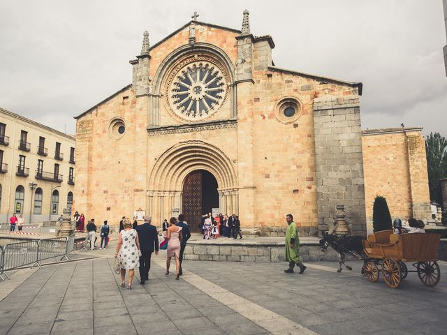La boda de Nieves y Pedro en Ávila, Ávila 40