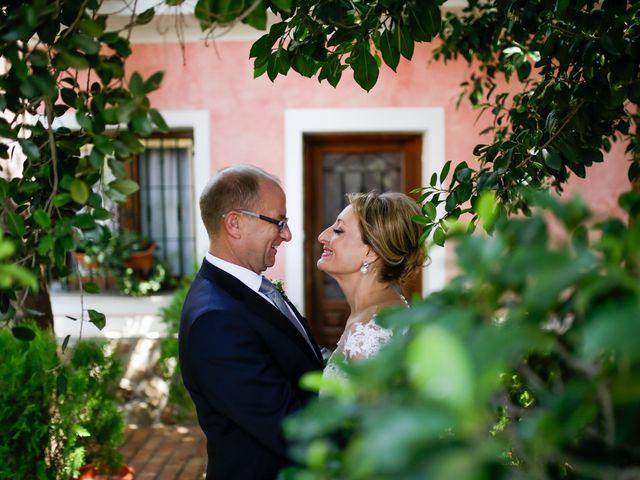 La boda de David y Mari Carmen en Beniajan, Murcia 1
