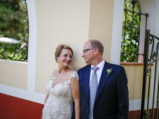 La boda de David y Mari Carmen en Beniajan, Murcia 17