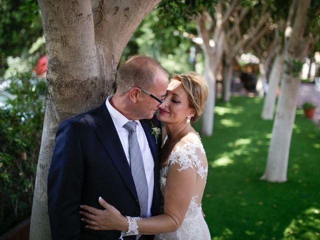 La boda de David y Mari Carmen en Beniajan, Murcia 18