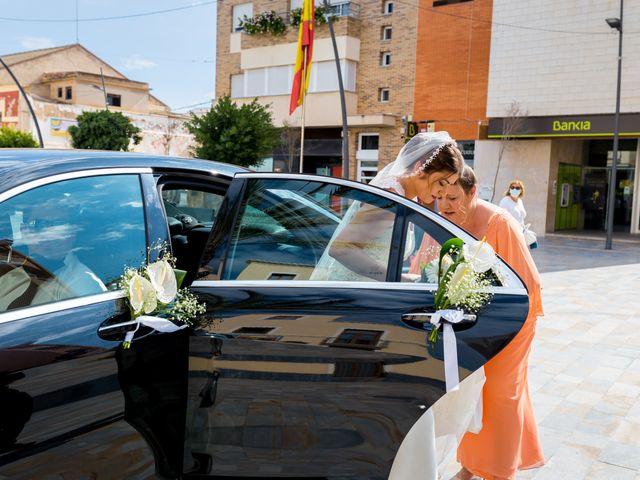 La boda de Samuel y Rocío en San Pedro Del Pinatar, Murcia 10