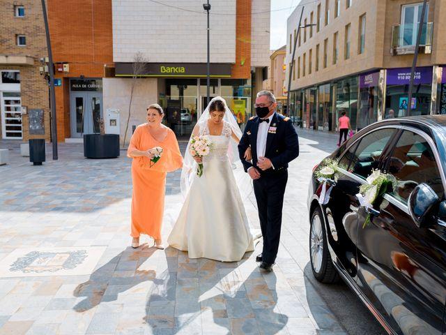 La boda de Samuel y Rocío en San Pedro Del Pinatar, Murcia 11