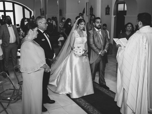 La boda de Samuel y Rocío en San Pedro Del Pinatar, Murcia 15