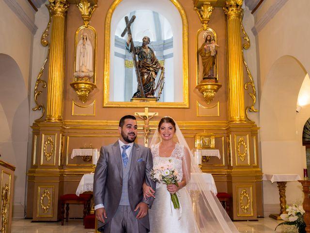 La boda de Samuel y Rocío en San Pedro Del Pinatar, Murcia 20