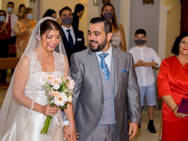 La boda de Samuel y Rocío en San Pedro Del Pinatar, Murcia 35