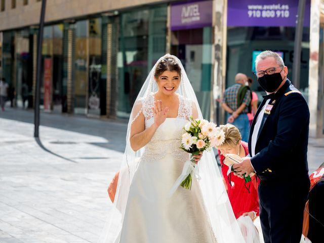 La boda de Samuel y Rocío en San Pedro Del Pinatar, Murcia 39