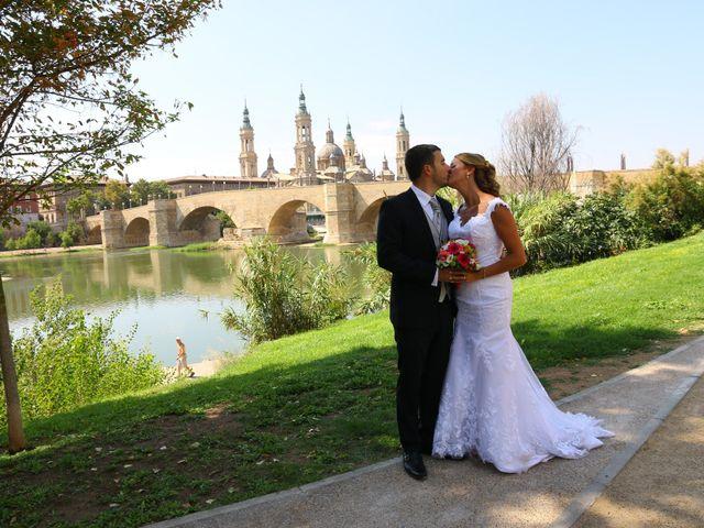 La boda de Daniel y Virginia en Zaragoza, Zaragoza 8