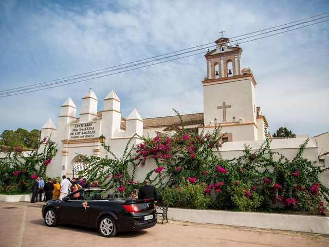 La boda de Fernando y Sonia en Jimena De La Frontera, Cádiz 2