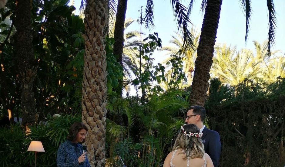 La boda de Alejandro y Paloma en Elx/elche, Alicante