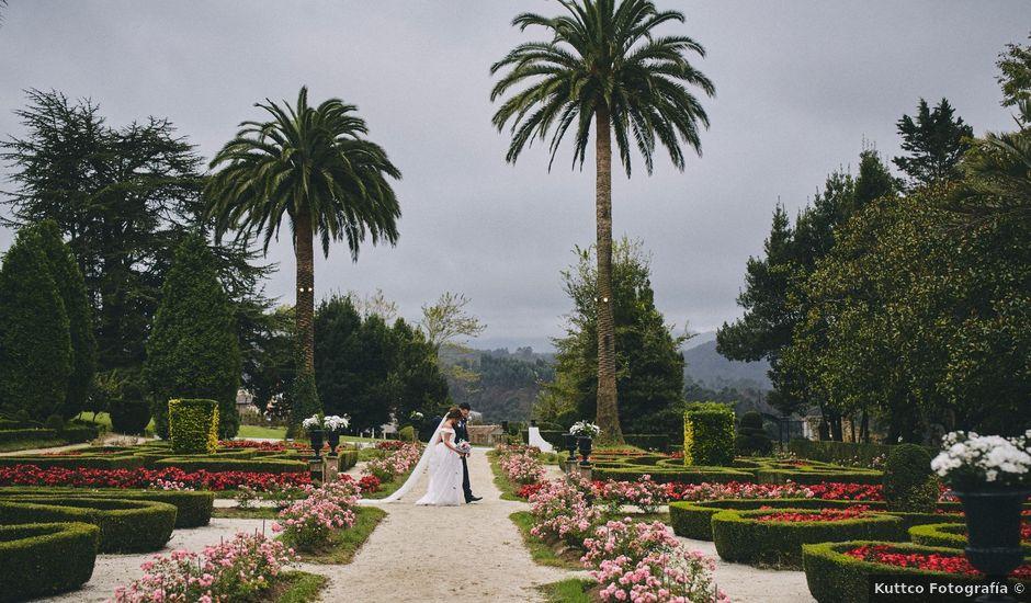 La boda de Adrián y Aida en Valdesoto, Asturias