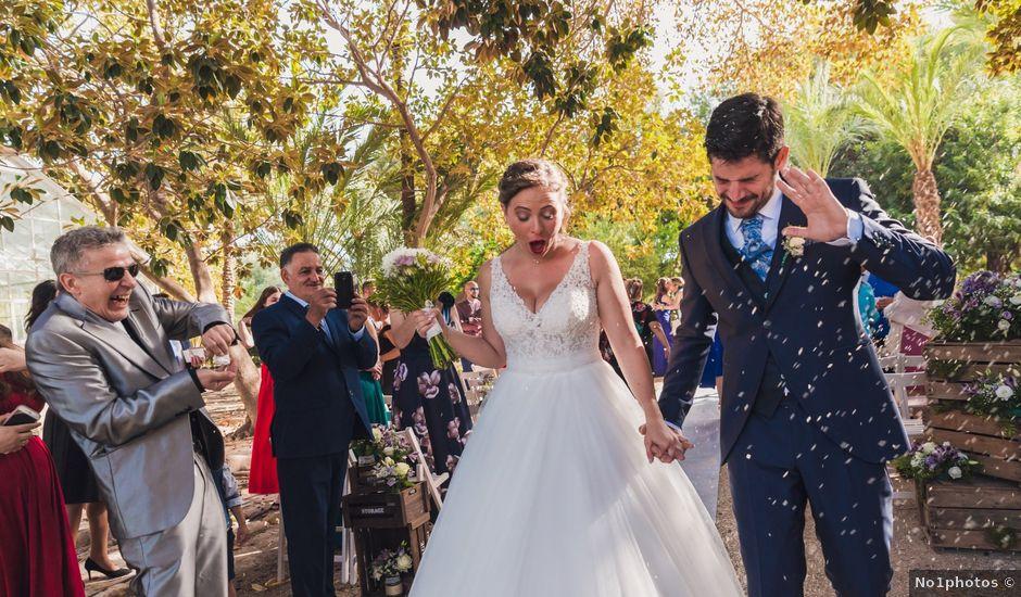 La boda de Edgar y Natalia en Elx/elche, Alicante