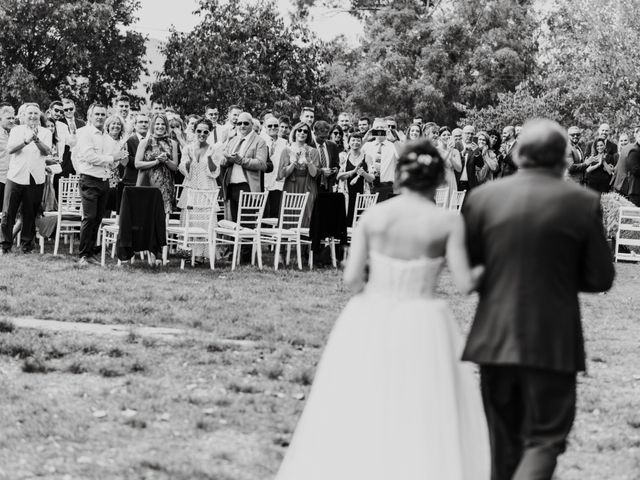 La boda de Oriol y Eli en Sant Ferriol, Girona 35