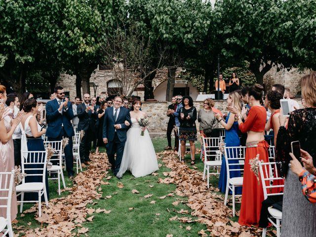 La boda de Oriol y Eli en Sant Ferriol, Girona 36