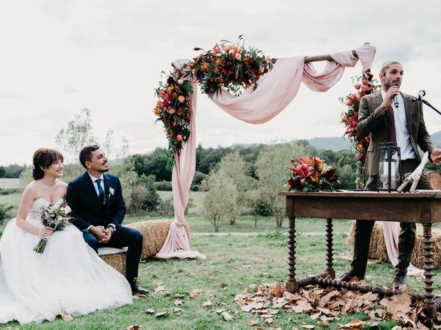 La boda de Oriol y Eli en Sant Ferriol, Girona 37