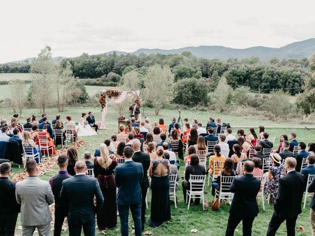 La boda de Oriol y Eli en Sant Ferriol, Girona 38