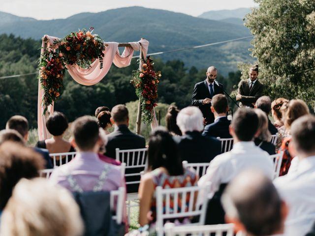 La boda de Oriol y Eli en Sant Ferriol, Girona 44