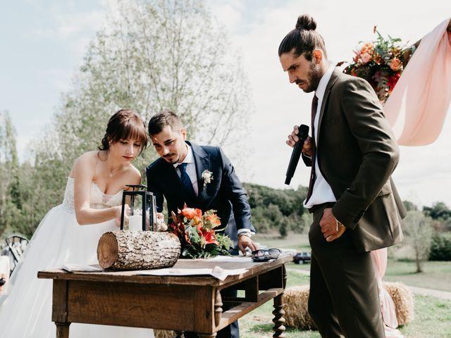 La boda de Oriol y Eli en Sant Ferriol, Girona 46