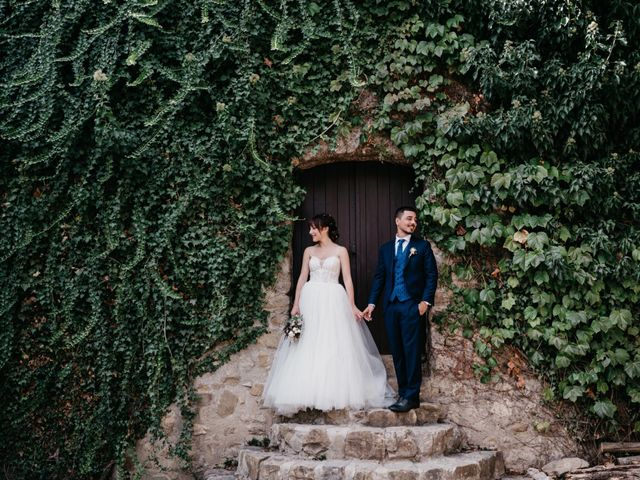 La boda de Oriol y Eli en Sant Ferriol, Girona 1