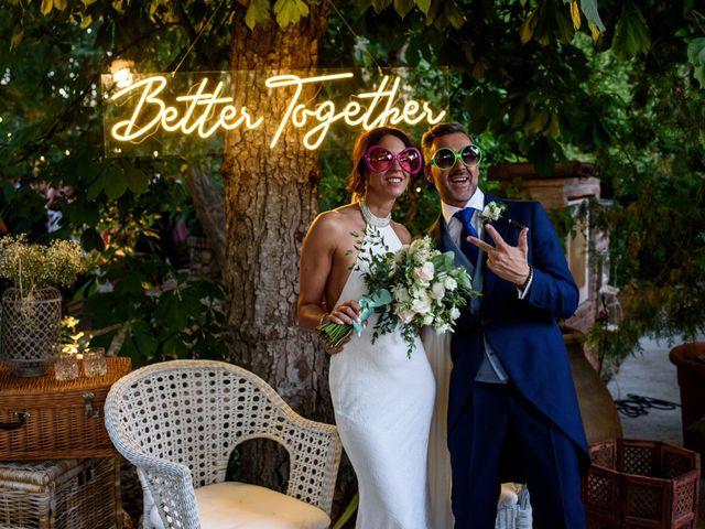 La boda de Carlitos y Sole en Chinchon, Madrid 1