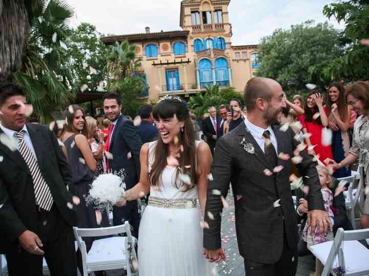 La boda de Mireia y Isaac