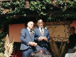 La boda de Raúl y Jose Maria