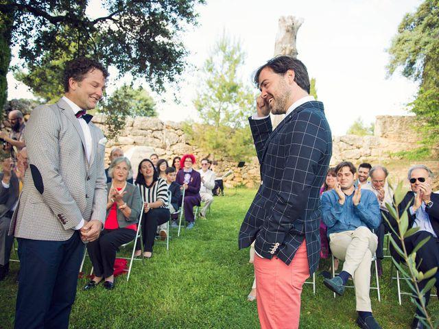 La boda de Josep y Andrew en Monroyo, Teruel 13