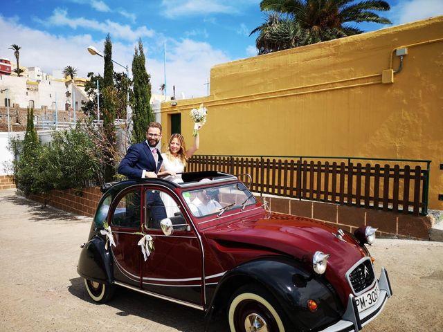 La boda de Kasia y Miguel en Arucas, Las Palmas 12
