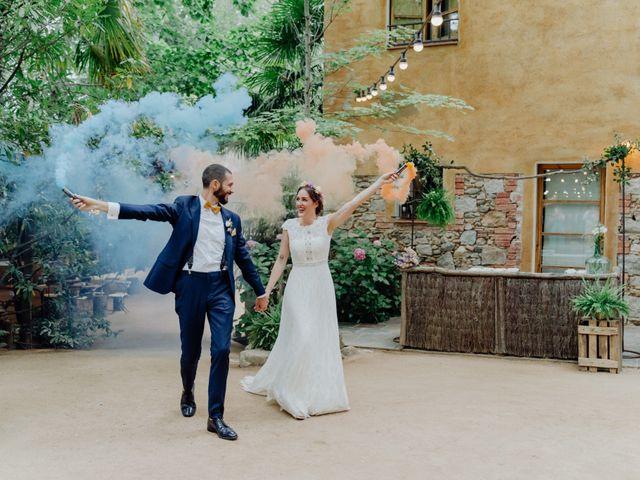 La boda de Guillermo y Claudia en Arbucies, Girona 6