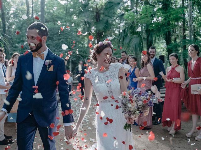 La boda de Guillermo y Claudia en Arbucies, Girona 8