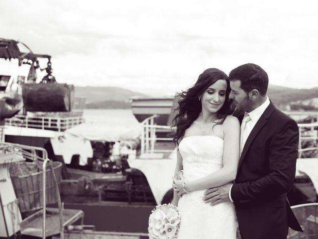 La boda de Alexandra y Ángel