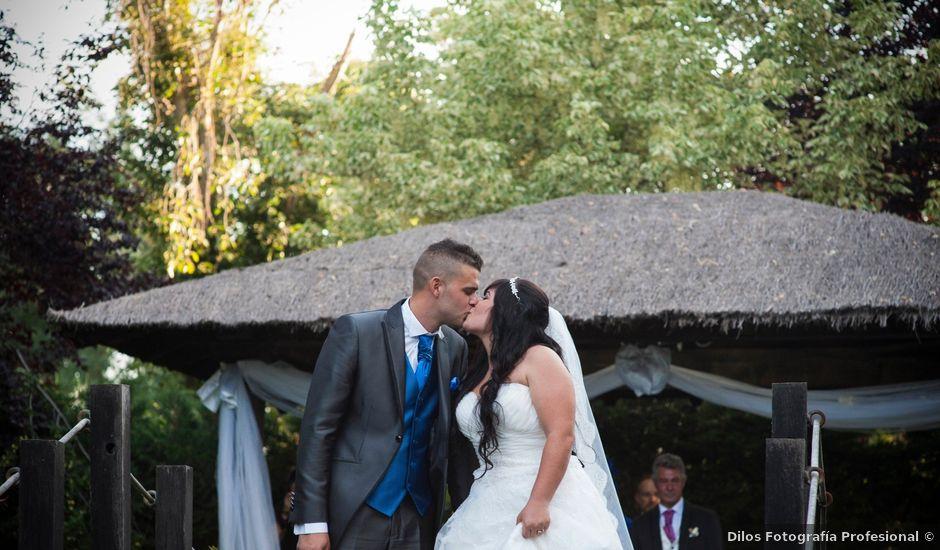 La boda de Sergio y Jessi en Yunclillos, Toledo