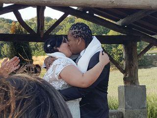 La boda de Mireia y Courtney