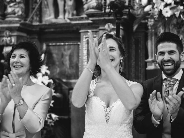 La boda de Arkaitz y Saioa en Kortezubi, Vizcaya 26