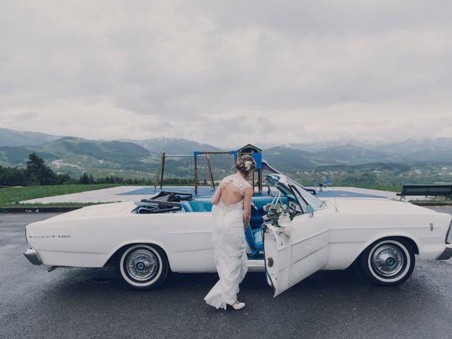 La boda de Arkaitz y Saioa en Kortezubi, Vizcaya 35