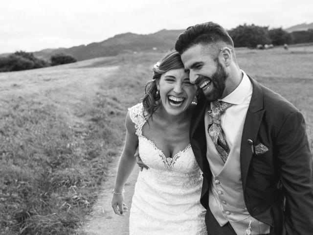 La boda de Arkaitz y Saioa en Kortezubi, Vizcaya 65