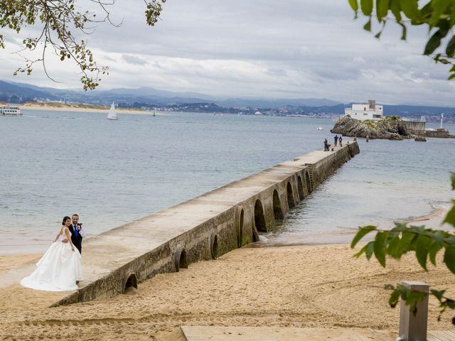 La boda de Samuel y Ines en Santander, Cantabria 22